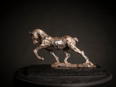 MIM SCALA ~ Work Horse - Bronze on black Kilkenny marble - 22 x 34 x13 cmedition of 10 #6 - 10 available - €4500