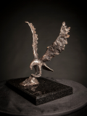 MIM SCALA ~ Osprey - Bronze on black Kilkenny marble - 30 x28 x 26 cm - edition of 10 #4 - 10 available - from €3800