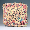 CORMAC BOYDELL ~ Rain Shower over Banyuls ceramic 45 x 47 x 10 cm - €550 - SOLD