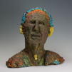 CORMAC BOYDELL ~ The Weaver of Tales ceramic 45 x 52 cm - €1500