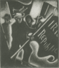 BRIAN LALOR - Raising the Flags, noon, 24th April 1916 - mezzotint - €180