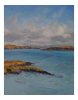 DAMARIS LYSAGHT ~ From Colla Pier - Oil on Canvas - 45 x 35 cm