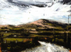 DONAGH CAREY ~ Towards Lowertown - oil on board - 23 x 30 cm - €375