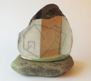 DAVID SEEGER - Enfoldings for Building 2 - ceramic on stone - 43 x 17 cm -€550