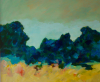 TERRY SEARLE - End of the Garden - acrylic on canvas - 51 x 61 cm - €950