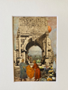 PENNY DIXEY -Market - collage - 34 x 29 cm - €150 - SOLD