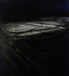 JANET MURRAN - Boy Racers II - charcoal and acrylic on fabriano - 44 x 40 cm €600