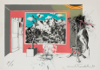 MICHEAL FARRELL ~ L'Autre Savoir - lithograph - edition of 60 - 53.25 x 76.25 - €1800