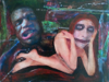 PAUL FORDE-CIALIS - New Life - Boygirlboygirlboygirl - oil on canvas - €350