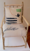 ALISON OSPINA - Hazel upholstered Armchair with Cushion - €780 - SOLD