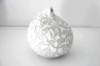 JIM TURNER ~ Large White Pod - volcanic glaze - €220