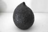 JIM TURNER ~ Large Black Pod - volcanic glaze - €220