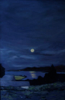 FIONA POWER ~ Dunmanus Bay Nocturne - oil on canvas - 90 x 60 cm - €580