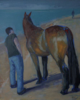 PATRICIA CARR ~ Farewell - oil on canvas - 65 x 55 cm - €700