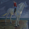 PATRICIA CARR ~ Keeping Watch - oil on canvas - 65 x 75 cm - €750