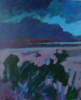 TERRY SEARLE ~ By the Lake I - acrylic on canvas - 39 x 46 cm - €500