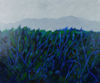 TERRY SEARLE ~ Edge of the Field - acrylic & paper on canvas - 30 x 60 cm - €600