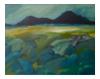 TERRY SEARLE ~ Summer Evening - Oil on canvas - 40 x 50 cm