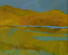TERRY SEARLE ~ The Lake - acrylic on canvas - 26 x 30 cm - €250 - SOLD