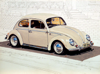 JOHN DOHERTY ~ VDUB Beetle I - acrylic & pencil on gesso panel - 18 x 24 cm - €2100