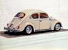 JOHN DOHERTY ~ VDUB Beetle II - acrylic & pencil on gesso panel - 18 x 24 cm - €2100