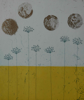 AKINO / O'FARRELL ~ Summer Sounds drifts as Pollen - etching & aquatint - 22 x 19 cm - €265 - TWO SOLD