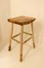 ALISON OSPINA - Rectangular stool elm - €240 - SOLD