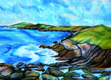 ALYN FENN ~ Seascape II - oil pastel on paper - 30 x 42 cm - €225