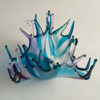 ANGELA BRADY Water Flower - Fuse Glass - 15 x 15 cm  - €240