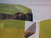 ANGELA FEWER - Ancient Cliffs - acrylic on board 36 x 46 cm - €820