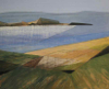 ANGELA FEWER - Golden Strand - acrylic on board - 25 x 30  cm - €620