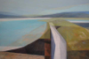 ANGELA FEWER - the Strand - acrylic on canvas - 58 x 85 cm - €1800