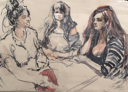 ANN MARTIN - Group Study - watercolour -  €475