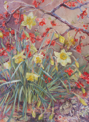 ANN MARTIN ~ Undergarden Kilcoe, Co.Cork 2003 - watercolour - 57 x 76 cm - €4200