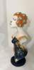 AYELET LALOR ~ Bather with orange cap - ceramic - 20 x 16 x 52 cm - €800