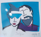 AYELET LALOR  - Selfie - screenprint 4/9 - €85