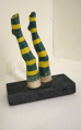 AYELET LALOR ~ Stockinged Feet -ceramic/stone -18 x12 x 6 cm - €120