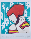 AYELET LALOR  - Your call is important - screenprint 1/7 - €85