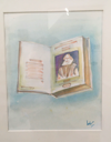 BRIAN LALOR - Mr William Shakespeare comedies - gouache - 27 x 26 cm - €300