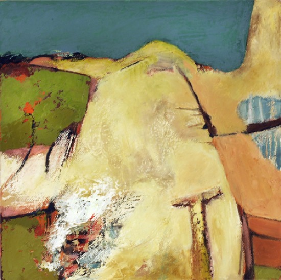 CATHERINE WELD - A Cork Holiday - oil on canvas - 30 x 30 cm - €250