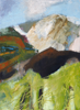 CATHERINE WELD - Across the Borlin Valley - oil on canvas - 70 x 50 cm - €650