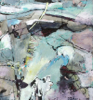 CATHERINE WELD - Inis Mor II - mixed media on fabriano paper - 52 x 52 cm - €390