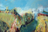 CATHERINE WELD - Summer on the Top Road - oil on canvas - 50 x 76 cm - €750