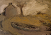 CHRISTINE THERY ~ A Long Island Punt - oil on canvas on board - 28.5 x 35.5 cm - €385