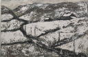 CHRISTINE THERY - A Winter's Tale, Cape Clear Island - oil on canvas - 51 x 76 cm - €1100
