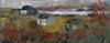 CHRISTINE THERY - Architecture without Architects - oil on canvas - 40 x 100 cm - €1800