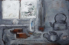 CHRISTINE THERY - Deserted - Still Life - oil on canvas on board - 61 x 92 cm - €2200