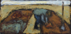 CHRISTINE THERY - Harvest - oil on canvas - 20 x 40 cm - €380 - SOLD