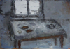CHRISTINE THERY - Island - Still Life - oil on canvas - 25 x 35.5 cm - €420