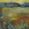 CHRISTINE THERY - Ragwort Sky - oil on canvas - 80 x 80 cm - €1500 - SOLD